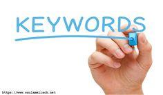 Keywords: ¿Qué son? ¿Para qué sirven?: Es muy sencillo decir ¿para qué? y ¿qué son?, las palabras clave… #Curiosidades #Noticias #avances