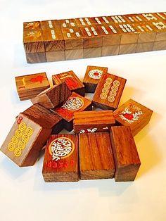 Mad About Mah Jongg - Rosewood American Mah Jongg Tile Set - New!, $59.00 (http://www.madaboutmahjongg.com/rosewood-american-mah-jongg-tile-set-new/)