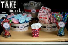 baseball party centerpiece ideas | Baseball Birthday Party - Kara's Party Ideas - The Place for All ...