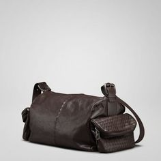 "www.bottegavenetaoutlet.us BottegaVeneta_019 This gorgeous calf leather duffle-like bag is soft leather splendor at its finest.15.6"""" W x 6.3"""" H x 8.7"""" D"