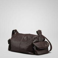 "www.bottegavenetaoutlet.us BottegaVeneta_019 This gorgeous calf leather duffle-like bag is soft leather splendor at its finest.15.6"""" W x 6.3"""" H x 8.7"""" D"
