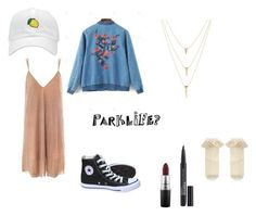 """""""Girls and Boys"""" by broken-souls on Polyvore featuring mode, Sans Souci, Converse, MAC Cosmetics, Smashbox et Monsoon"""