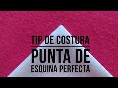 Cómo hacer para que las puntas de las esquinas queden perfectas. Costura fácil Yoko Saito, Sewing Techniques, Sewing Clothes, Drink Sleeves, Quilts, Youtube, Tips, Ideas, Scrappy Quilts