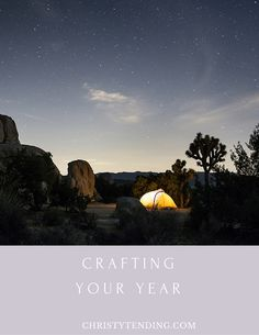 Crafting Your Year, a free workbook from Christy Tending Healing Arts. Find it at ChristyTending.com/free