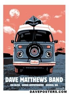 DMB..went to this show, framed this poster.