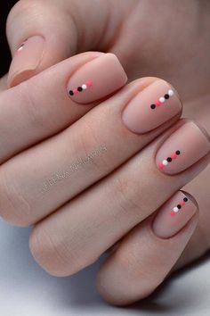 100 Hottest Acrylic Square Nails Design For Short Nails Coffin How to apply nail polish? Nail polish in your friend's nails looks perfect, nevertheless you Diy Nails, Cute Nails, Pretty Nails, Nail Nail, Manicure Ideas, Manicure For Short Nails, Nail Design For Short Nails, Shellac Nails, Nail Tips