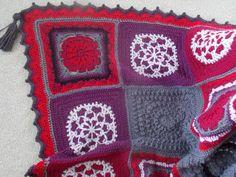 ✻ ✼ Reduzidos Cobertor winterberry Afegãos do Arco-Íris Crochê Pássaro -  / ✻ ✼  Reduced  WinterBerry Afghan Blanket Rainbow Bird Crochet Hooks -                                                                                                                                                                                 Mais