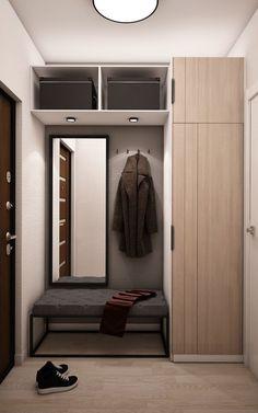 Hallway Designs, Foyer Design, Home Room Design, House Design, Wardrobe Interior Design, Wardrobe Door Designs, Interior Design Living Room, Home Entrance Decor, Entryway Decor
