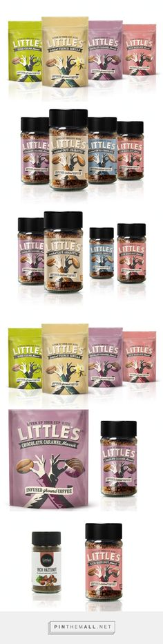 Little's Flavoured ‪#‎Coffee‬ ‪#‎packaging‬ designed by This Way Up Design - http://www.packagingoftheworld.com/2015/04/littles-flavoured-coffee.html