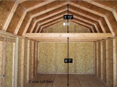 Barn Style Sheds With Lofts