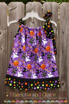 Halloween Pillowcase Dress -