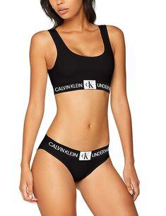 89c57f9206daf Calvin Klein Women s Unlined Bralette Bralet  Amazon.co.uk  Clothing