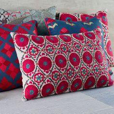 Cushions at Good Earth store India