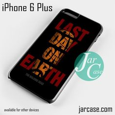 The walking dead Negan Last Day On Earth Phone case for iPhone 6 Plus and other iPhone devices