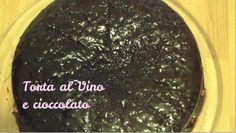 Torta al vino e cioccolato- Chocolate and Red Wine Cake