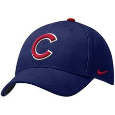95530d98f74 Nike Chicago Cubs Royal Blue Wool Classic Adjustable Hat