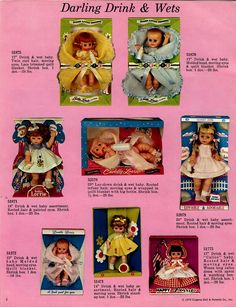 These are ALL 1974 EUGENE Dolls