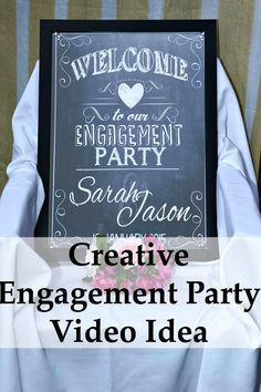 Aw I wish I had a video of my engagement party! This is awesome! Creative Wedding Engagement Video in Melbourne | Sarah and Jason