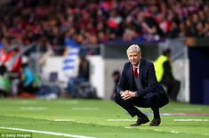 c24c34dfc59 Arsenal manager Arsene Wenger watches on as his last hope of a trophy with  the club