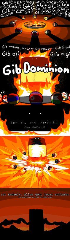 ist Endzeit : is end-time ( Reichtangle ) by Schootingstarr #polandball #countryball