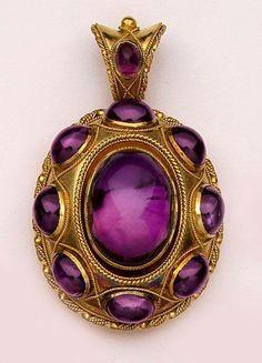 Amethyst...my birthstone...I was born to love purple!