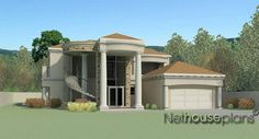 4 Bedroom house plan pdf at affordable price. Browse modern double storey house plans with photos, house plans in Limpopo and unique Tuscan house designs. Tuscan House Plans, Luxury House Plans, Country House Plans, New House Plans, Glass House Design, Two Story House Design, 4 Bedroom House Designs, 4 Bedroom House Plans, Philippines