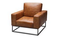 Buffel leren fauteuil Havana van Meubels en Meer. www.meubelsenmeer.nl