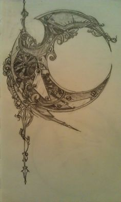 Steampunk Crescent by Nephamael on DeviantArt