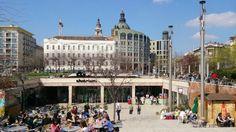 Erzsébet tér in Budapest, Budapest