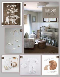 What's cuter than a beary sweet nursery?