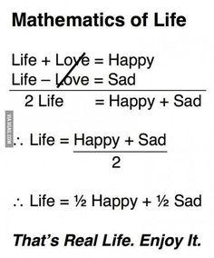 Maths of life