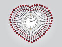 Kalpli Ferforje Duvar Saati  Ürün Bilgisi;  Ürün resimde olduğu gibidir Metal gövde Gerçek cam Sessiz akar saniye Çap : 75 cm Gayet şık ve hoş duvar saati
