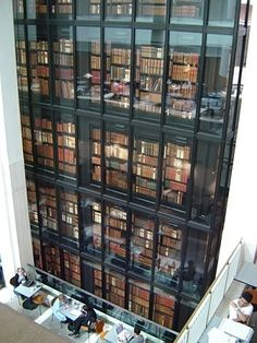 The British Library.  Mother Ship to all English-speaking librarians.  If it were allowed I would be buried here.