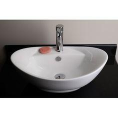 IMG Egg Shaped Single Hole Vessel Bathroom Sink