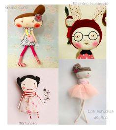 Knuffels à la carte blog: Pretty tiny doll week (day 5) a mix!