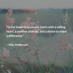 Great #Leadership