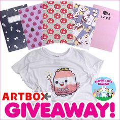 Artbox Sugar Hotel T-Shirt and Notebooks Giveaway