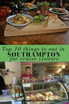 Top 10 things to eat in Southampton for cruise visitors