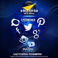 Buenos días... somos Victoria 103.9 FM #TuRadioVial Informativa. Nos encanta que estés con nosotros todos los días en las #RedesSociales.