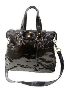 d5a4b2f7b9 Splendid, Timeless & Exceptional!!! - Yves Saint Laurent YSL Black Patent  Leather