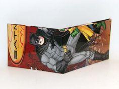 Comic Book Wallet// Batman, $4.00