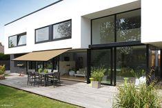 8779 Bruyère - Orchestra MAX - Store banne (terrasse) Bache Pergola, Toile Pergola, Vinyl Flooring, Facade, Outdoor Decor, Design, Home Decor, Google, Inspiration
