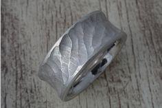 Bandringe - Silberring, Bandring (10 mm Breit) - ein Designerstück von Volodymyr-Batih bei DaWanda