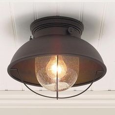 Cabelas Grand River LodgeÂ? Fisherman's Ceiling Light, Weathered Copper: $49.99