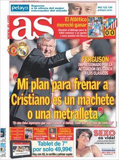 Los Titulares y Portadas de Noticias Destacadas Españolas del 4 de Marzo de 2013 del Diario AS ¿Que le pareció esta Portada de este Diario Español?