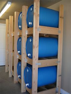 Water Barrel Storage Rack...Here is a great link for purchasing these in SG