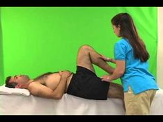 femoral nerve stretch test - youtube | lumbar/si special tests, Muscles