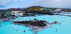 THE BLUE LAGOON, ICELAND - Why dish out the big bucks for a luxury spa weekend when you can visit the world-famous Blue Lagoon for only $50? No matter the season, the geothermal water here (just outside Reykjavik) remains at 100 degrees year-round.