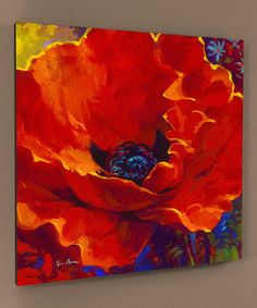 Take a look at this Lady in Red Gallery-Wrapped Canvas on zulily today!