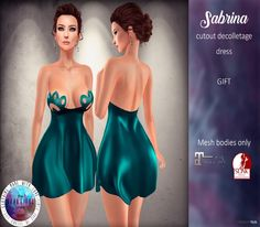 Sabrina Dress April 2017 Group Gift by The Beautiful Ones